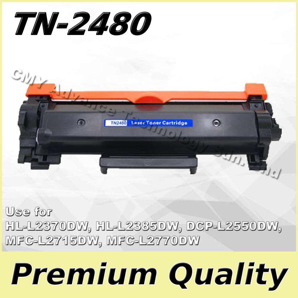 Compatible TN-2480 TN2480 TN-2460 TN2460 for HL- L2375DW DCP L2550DW MFC L2715DW L2750DW