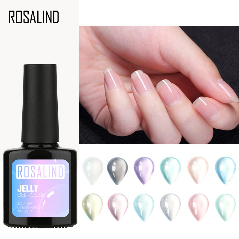 8 Ml Nail Gel Soak Off Uv Gel Polish Soft Tube For Nail Polish Long-lasting Led Varnish Manicure Diy Nail Art Decoration High Quality Beauty & Health Nail Gel