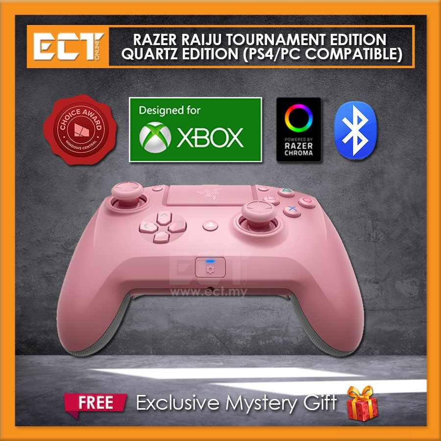 Razer Raiju Tournament Edition Quartz Edition Ps4 Gaming Controller Bluetooth Wired Connection Ps4 Pc Compatible Shopee Malaysia Switch between 3 connectivity modes: razer raiju tournament edition quartz edition ps4 gaming controller bluetooth wired connection ps4 pc compatible