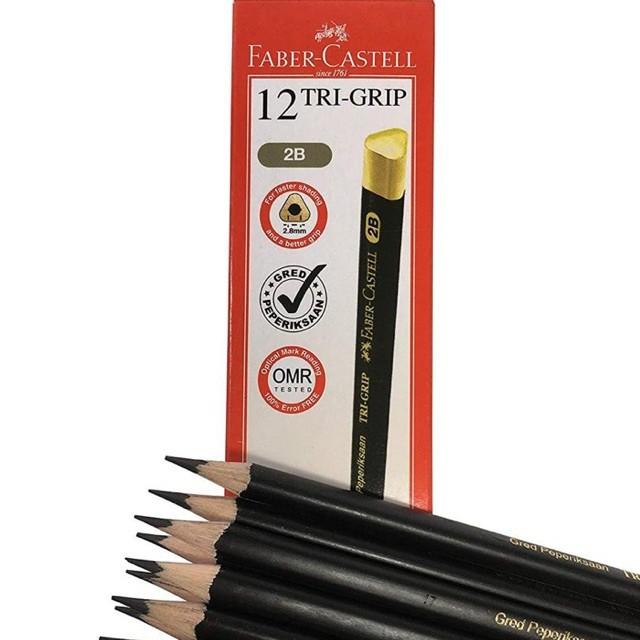 Faber Castell Tri-Grip 2B Pencil 12pcs/box
