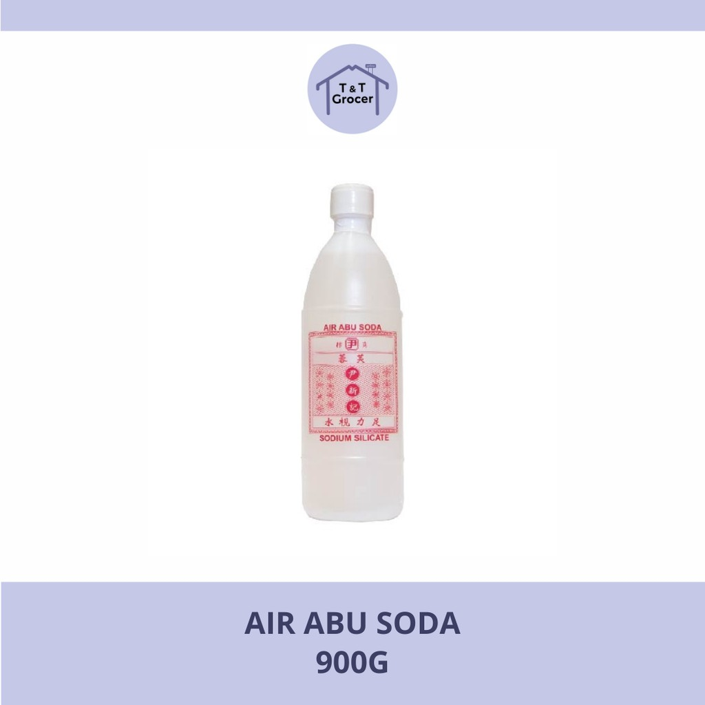 Air Abu Soda / Sodium Silicate