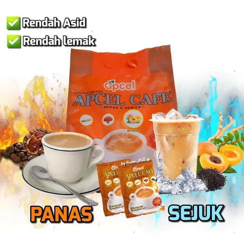 APCEL CAFE 20X25G 100% ORIGINAL HQ