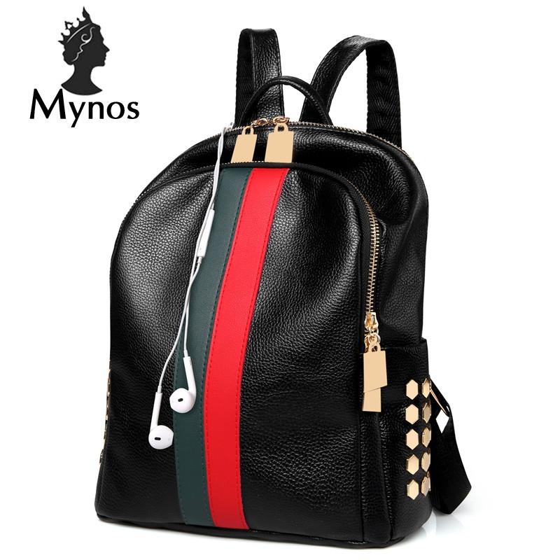 6c0c3fe730 4Pcs/Set Women Backpack Cute Cat Printing Preppy Style School Bag for  Teenage   Shopee Malaysia