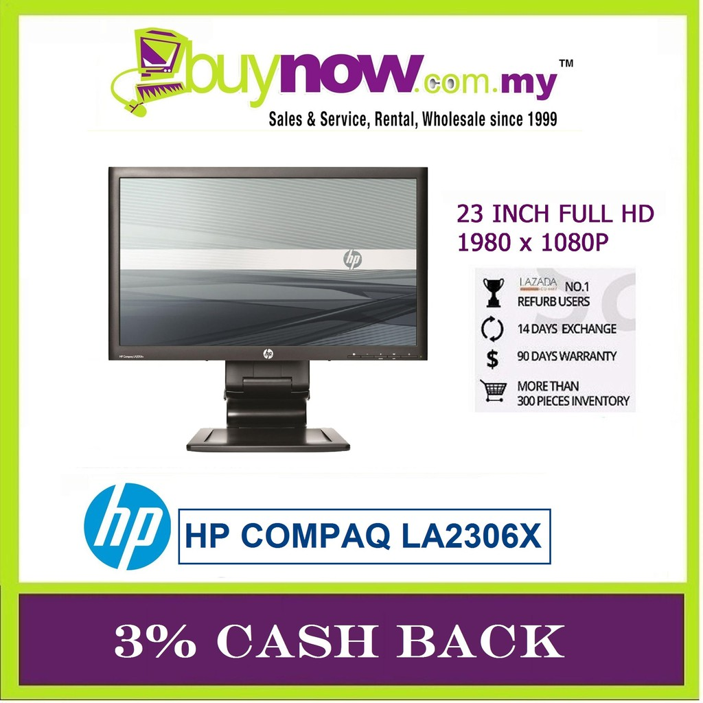 REFURBISHED LCD MONITOR HP COMPAQ LA2306x 23