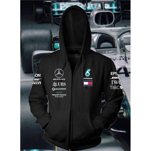 AMG Mercedes Petronas Hoodie New Women/'s Zipper Hoodie Longsleeve Size S to 2XL