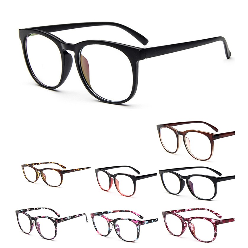 bfb46f1019a (oce)BZ327 Unique Clear Lens Glasses Metal Plain Glass Spectacles Frame  UV400