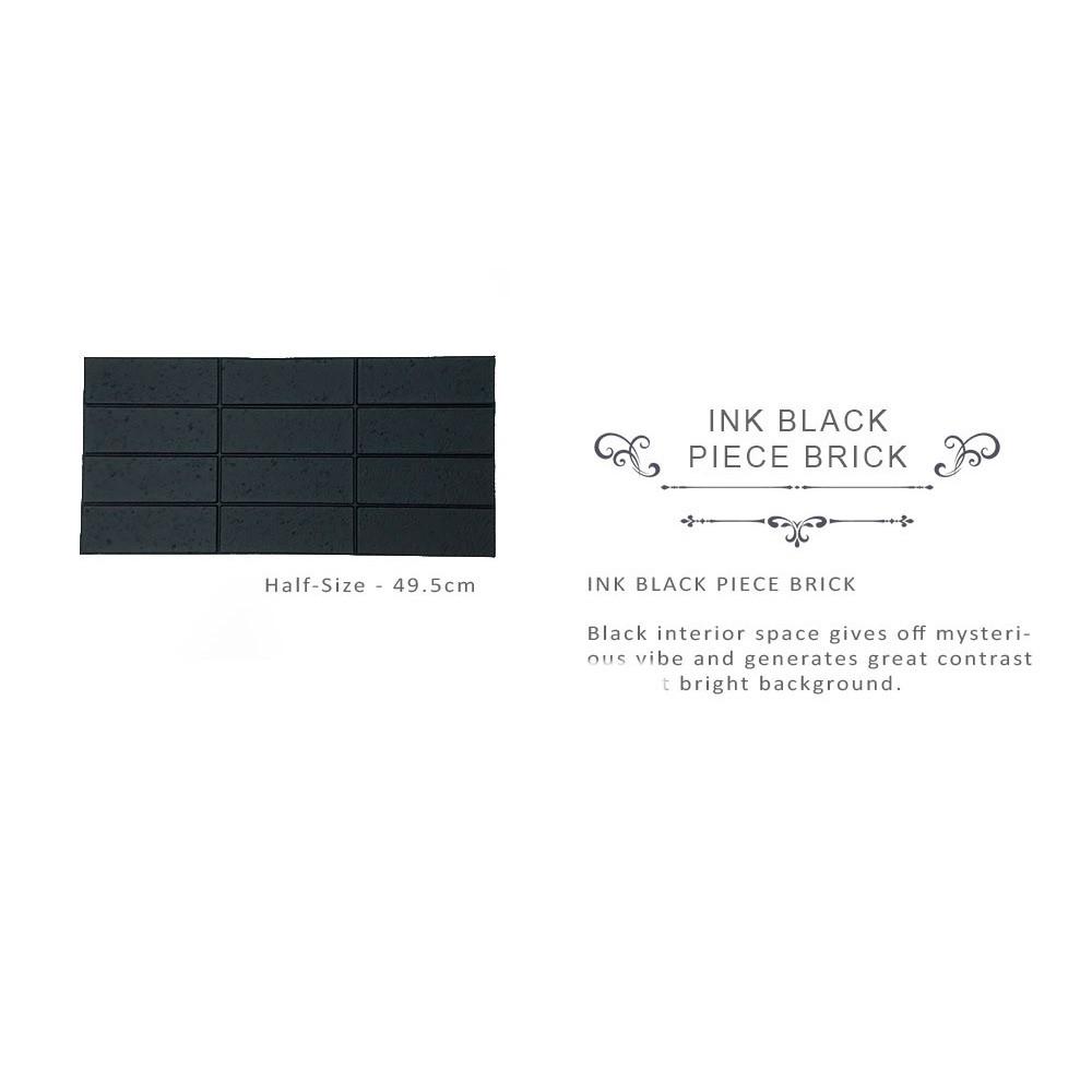 [Ready Stock] 99cmx29cm 3D Foam Stone Bricks Wood Wallpaper Sticker Self Adhesive Wall Decoration 3D Pelekat Dinding