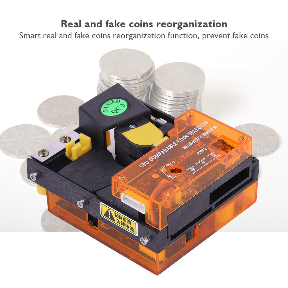 Multi Coin Acceptor Selector Slot for Arcade Game Consoles