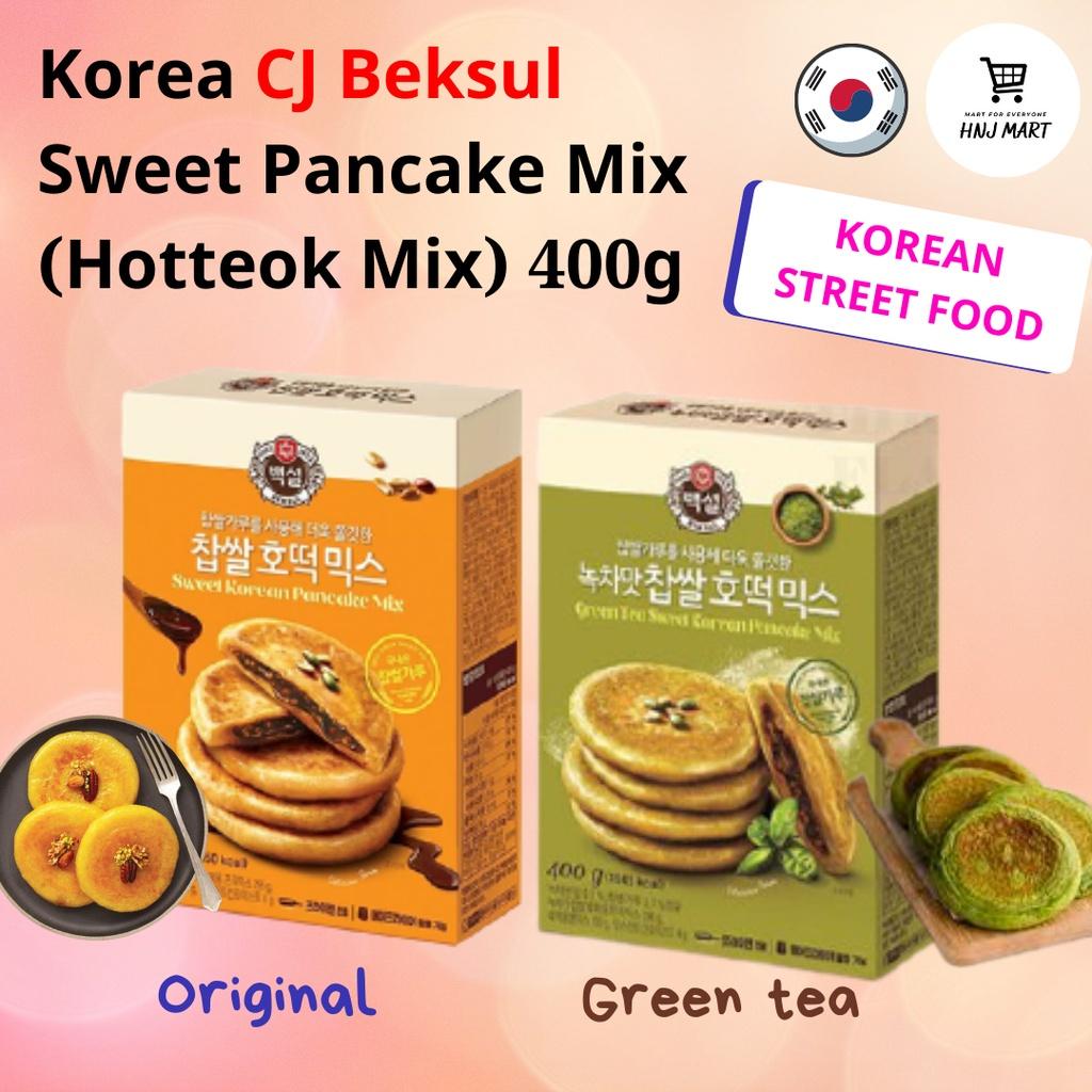 Korea CJ Beksul Sweet Pancake Mix (Hotteok Mix) 400g 韩国CJ糖饼 호떡 / 韩国著名街头小吃