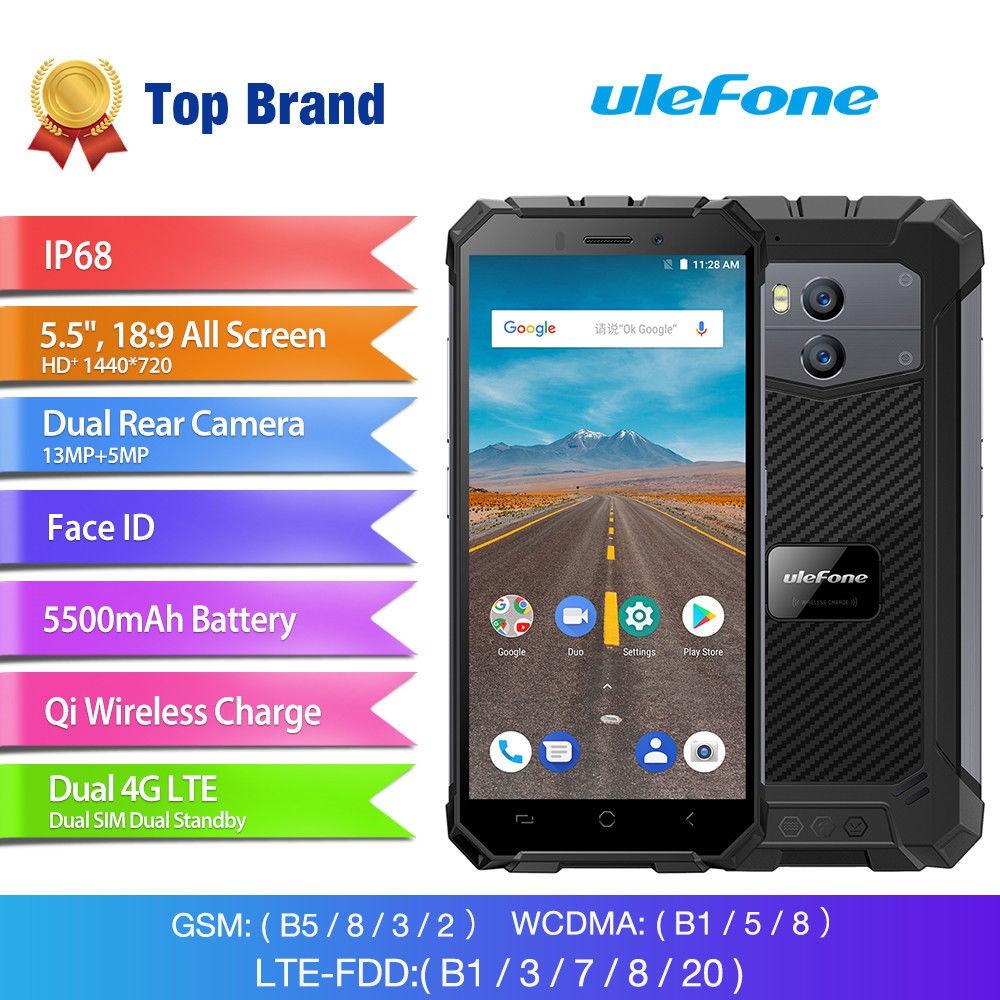 Ulefone Armor X Android 8 1 Waterproof IP68 5 5
