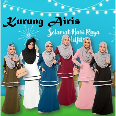 Baju Kurung Airis Ibu Menyusu by El Jannah Nursing and Wudhu Friendly Mommy Kurung