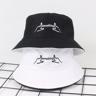 b502d629 Unisex Casual Two Sided Wear Cotton Bucket Hat Outdoor Fishing Camping Sun  Cap