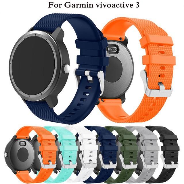 Garmin Vivoactive 3 Watch band Silicone Replacement Strap Garmin Vivomove HR