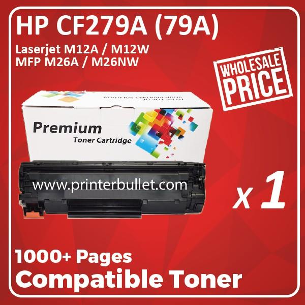 HP 79A / CF279A / CF279 / 279A Compatible Toner Cartridge