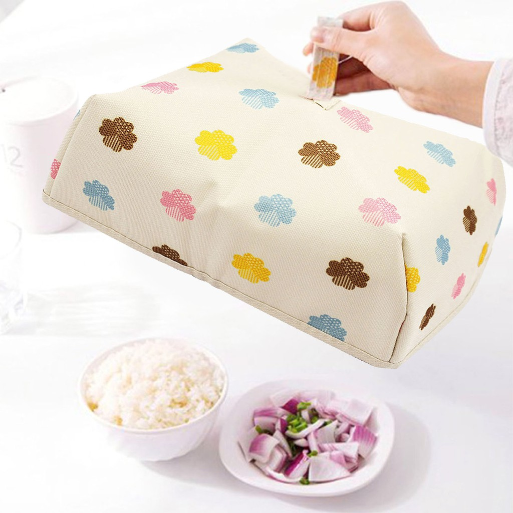 Large Foldable Insulated Food Dish Cover W Foil Table Hot Food Cover I46 Icor