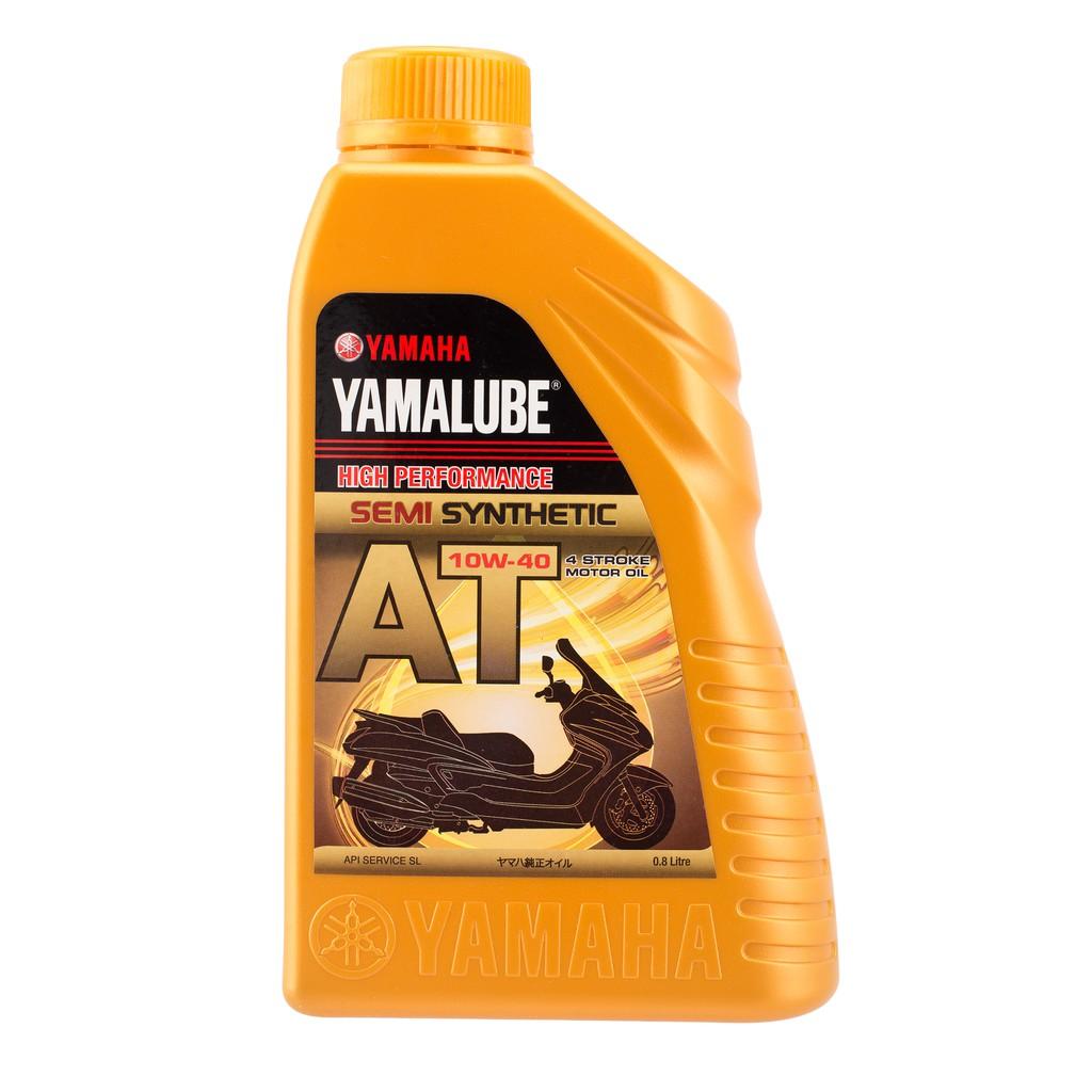 Yamaha Yamalube AT 10W-40 Semi Synthetic Motorcycle Oil (0.8L)