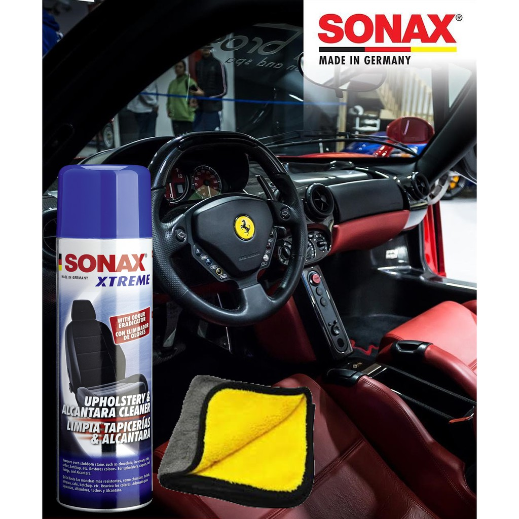 [Powerful Textiles Cleaner] SONAX XTREME Upholstery & Alcantara Cleaner (400ml)