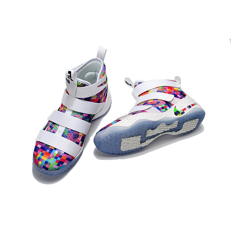 buy popular 85571 1cf70 DiscountReady Stock Nike LeBron James 11 Basketball shoes sports shoes  sneakers 40-46