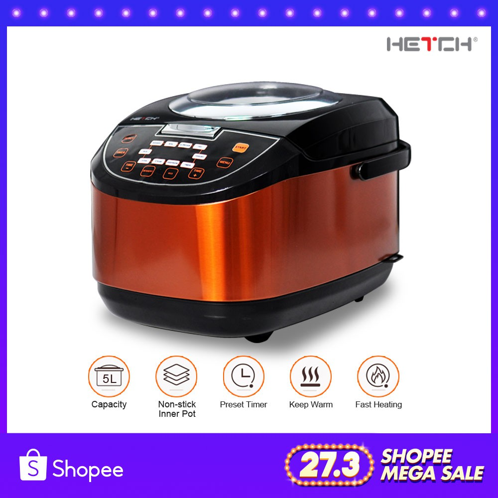 Home Appliances Electric Deep Fryer Home Smokeless Fryer Multi-function Small Pot Small Fryer Genuine 1pc 100% Original