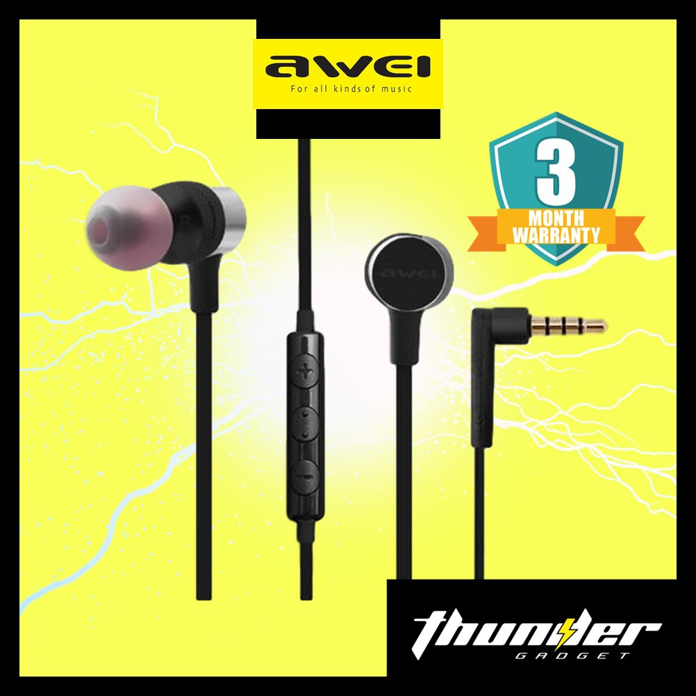 AWEI ES-20TY Portable Hi-Fi Earphone Powerful Sound