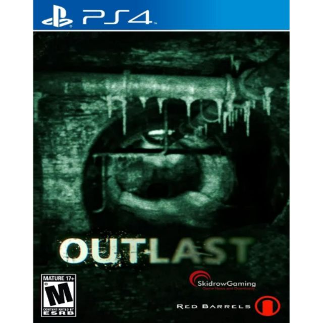 Outlast standard edition ps4