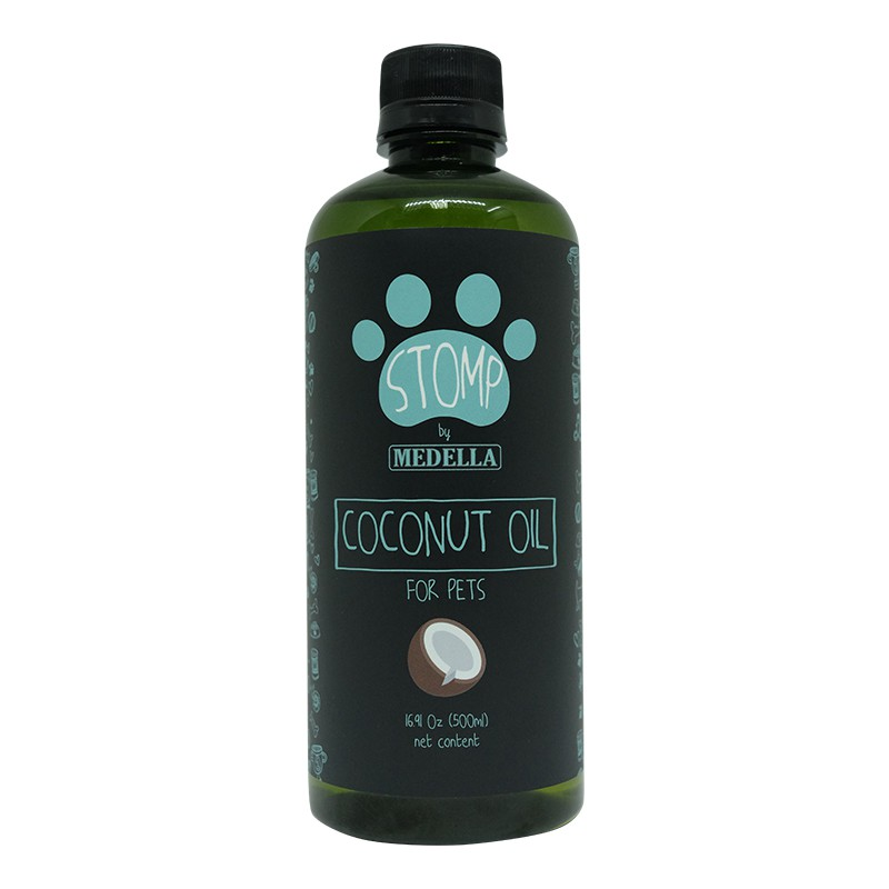 STOMP Coconut Oil for pets (500ml)