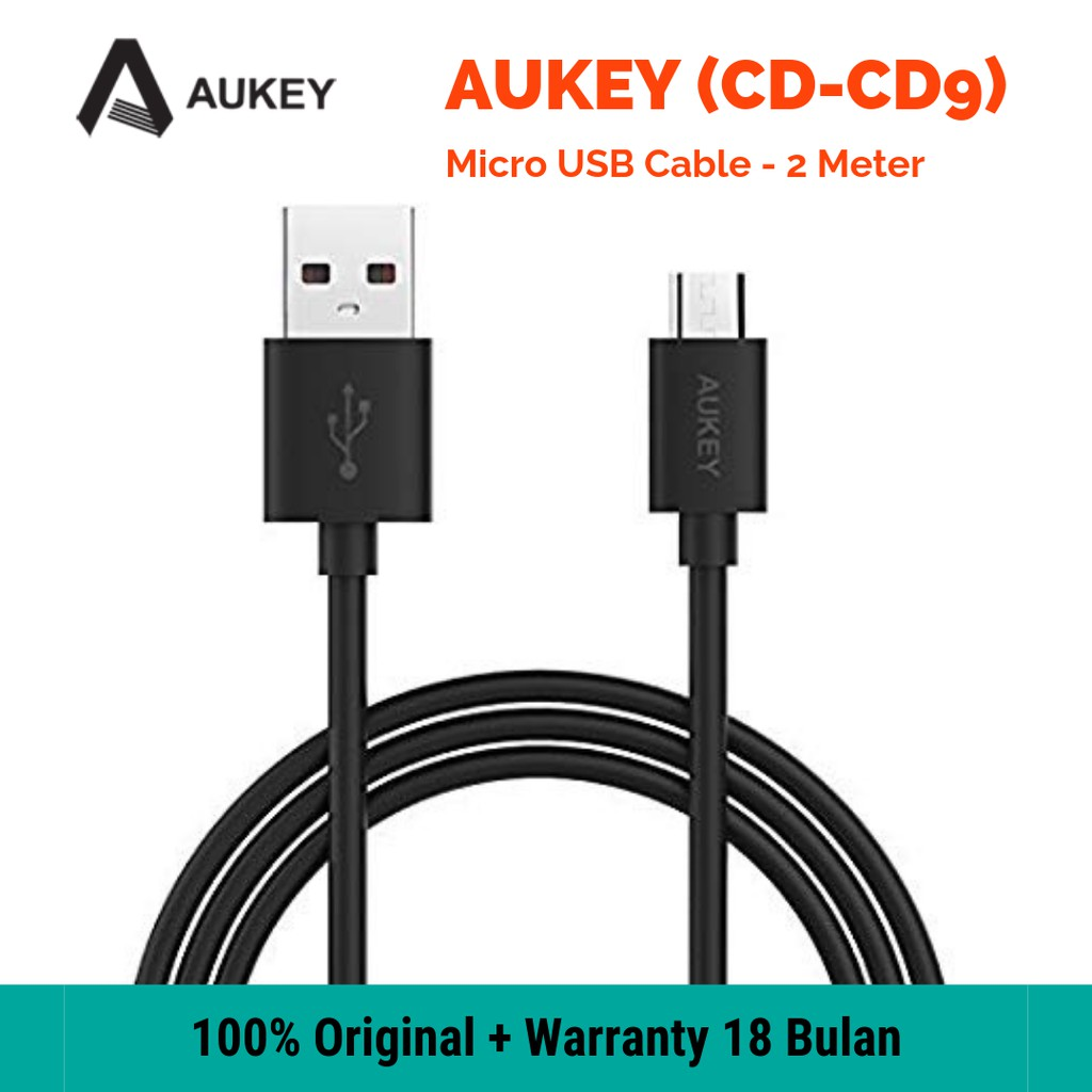 AUKEY CB-CD9 Micro USB Cable High Speed 2 Meter