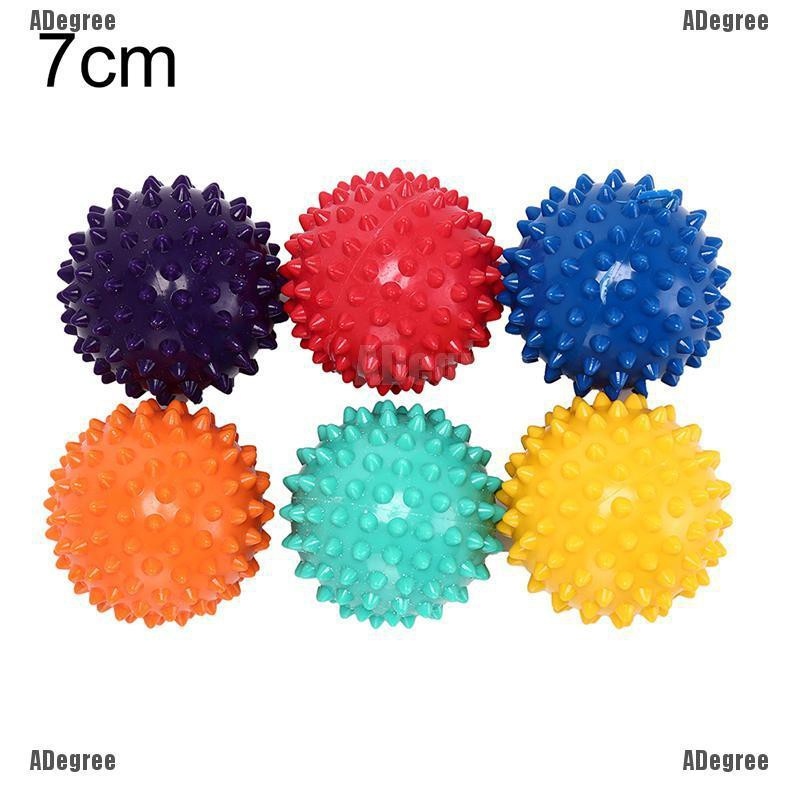 Color Random Spiky Ball Massage Trigger Point Exercise Pain Stress Relief