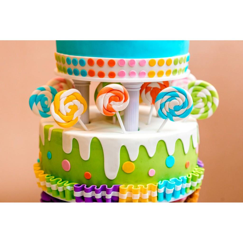 Chefmaster LIQUA-GEL® 6 Color NEON Kit 20ml Food Coloring