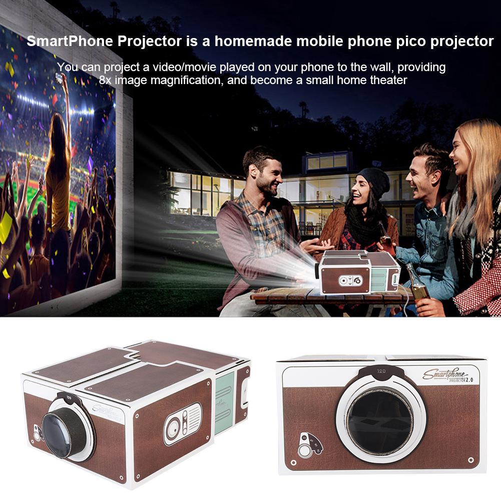 Phone Diy Cinema Portable Mobile Mini Smart Second