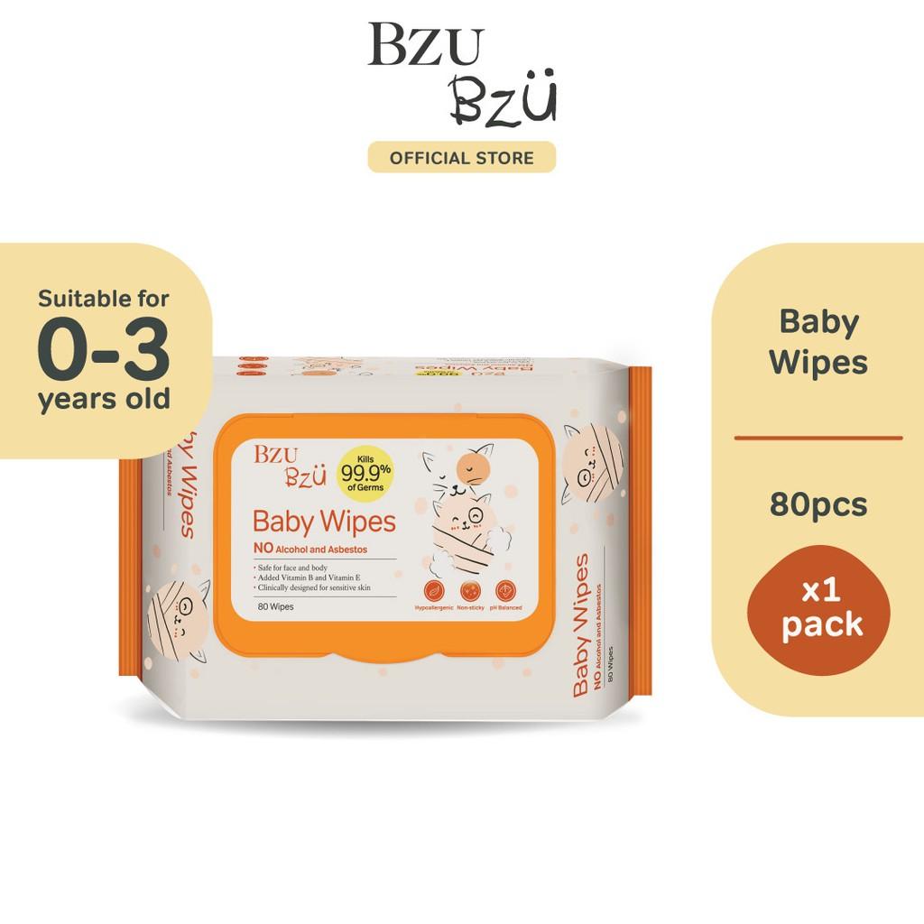 BZU BZU Baby Wipes (80 Pcs)