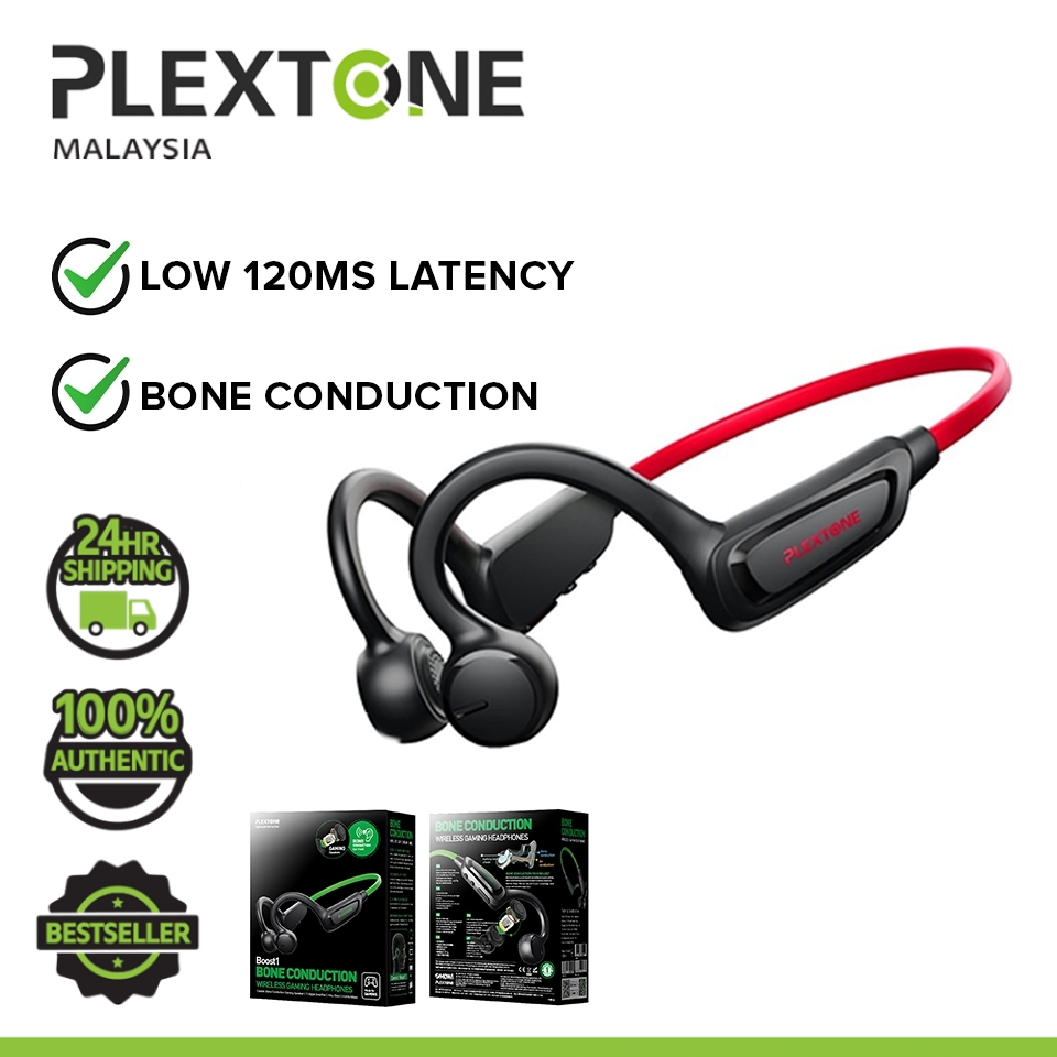 PLEXTONE BOOST1 Bone Conduction Bluetooth Headset