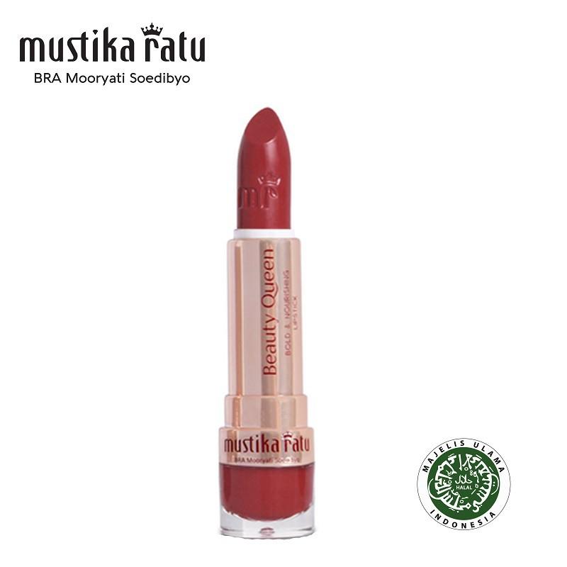 Mustika Ratu Beauty Queen Bold & Nourishing Lipstick - 08 Cheers Columbines (4g)