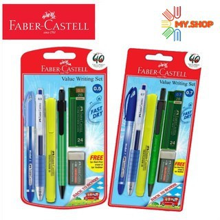 Faber-Castell Value Writing Set 0.5mm / 0.7mm