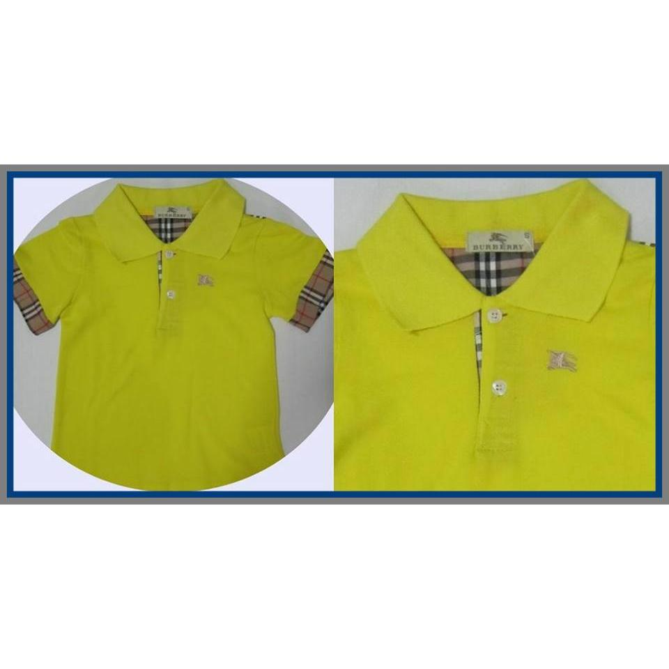 Short Sleeve Yellow Collor T Shirt for Kids