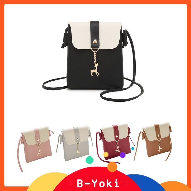 B-Yoki💕Women Leather Handbag Shoulder
