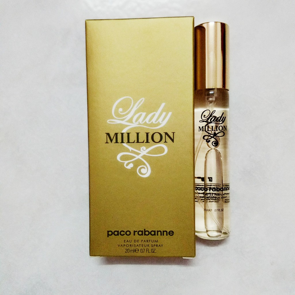 Edp20ml Million Million Rabanne Lady Edp20ml Paco Paco Paco Rabanne Lady Rabanne ZPOkTiXlwu