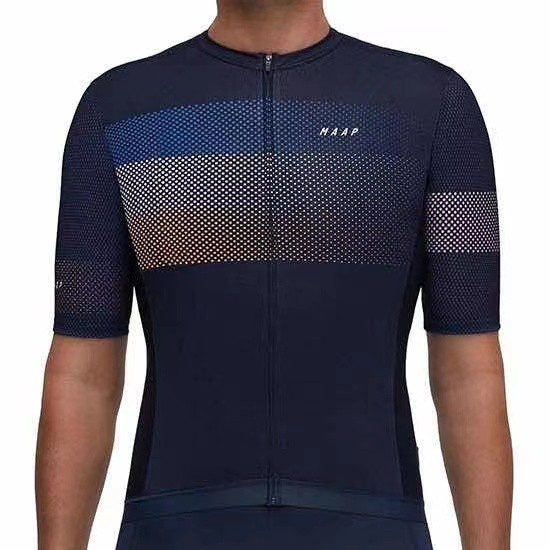 New MAAP Pro Cycling Jersey Long Sleeve and Short Sleeve SL Pro cycling Jersey Maap Training Jersey Simple Jersey