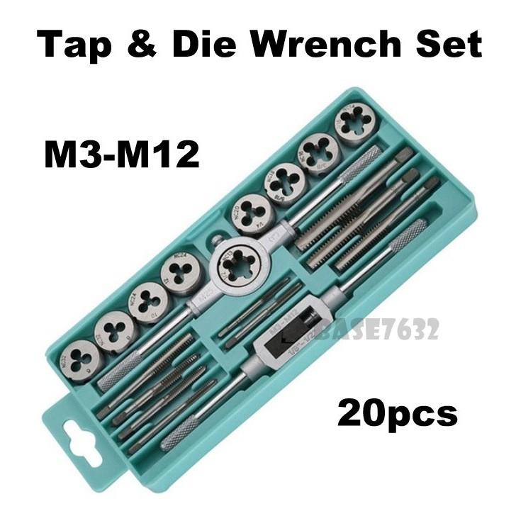 6pcs Taps M26×1.5+M28×1.5+M30×1.5 M32×1.5+M34×1.5+M38×1.5 Right Hand 1.5mm