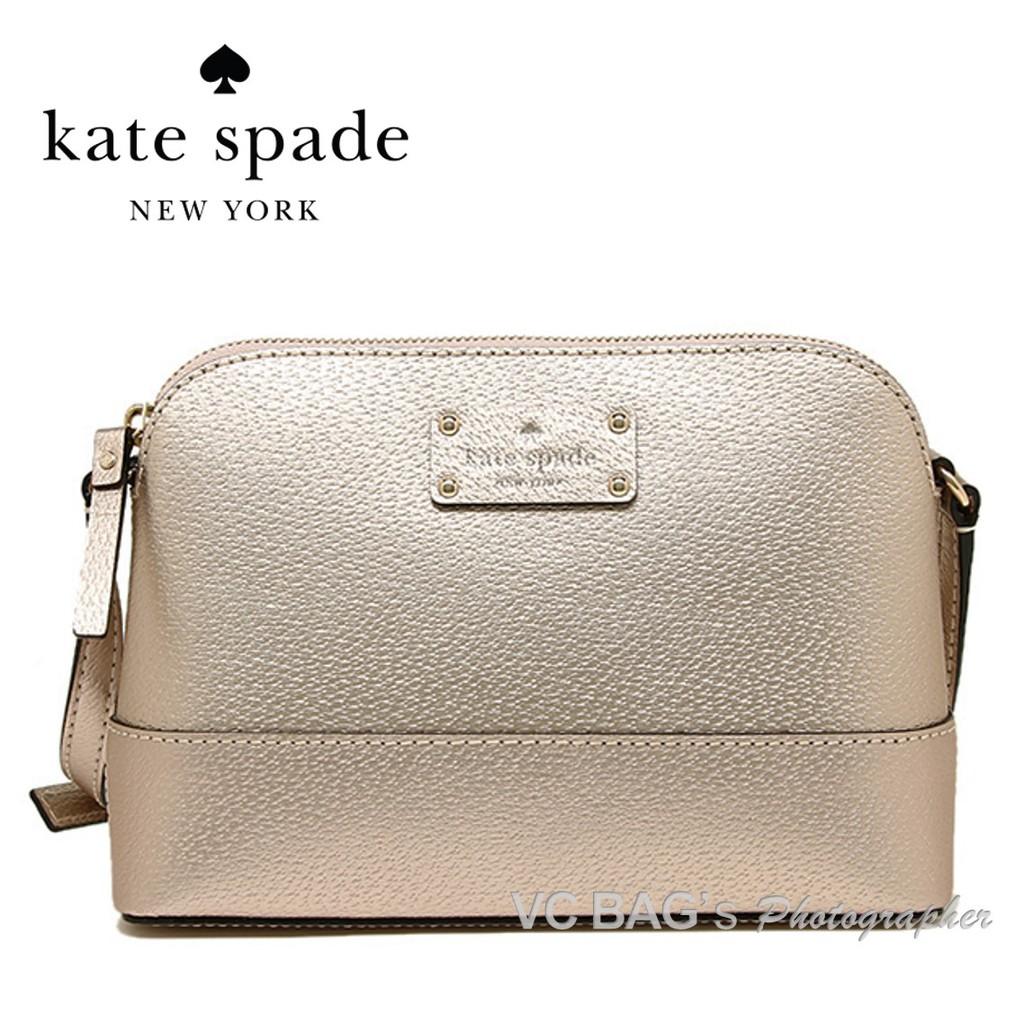 965092757d  AUTHENTIC Kate Spade WKRU2895 Wellesley Hanna Shoulder Bag  Rose Gold