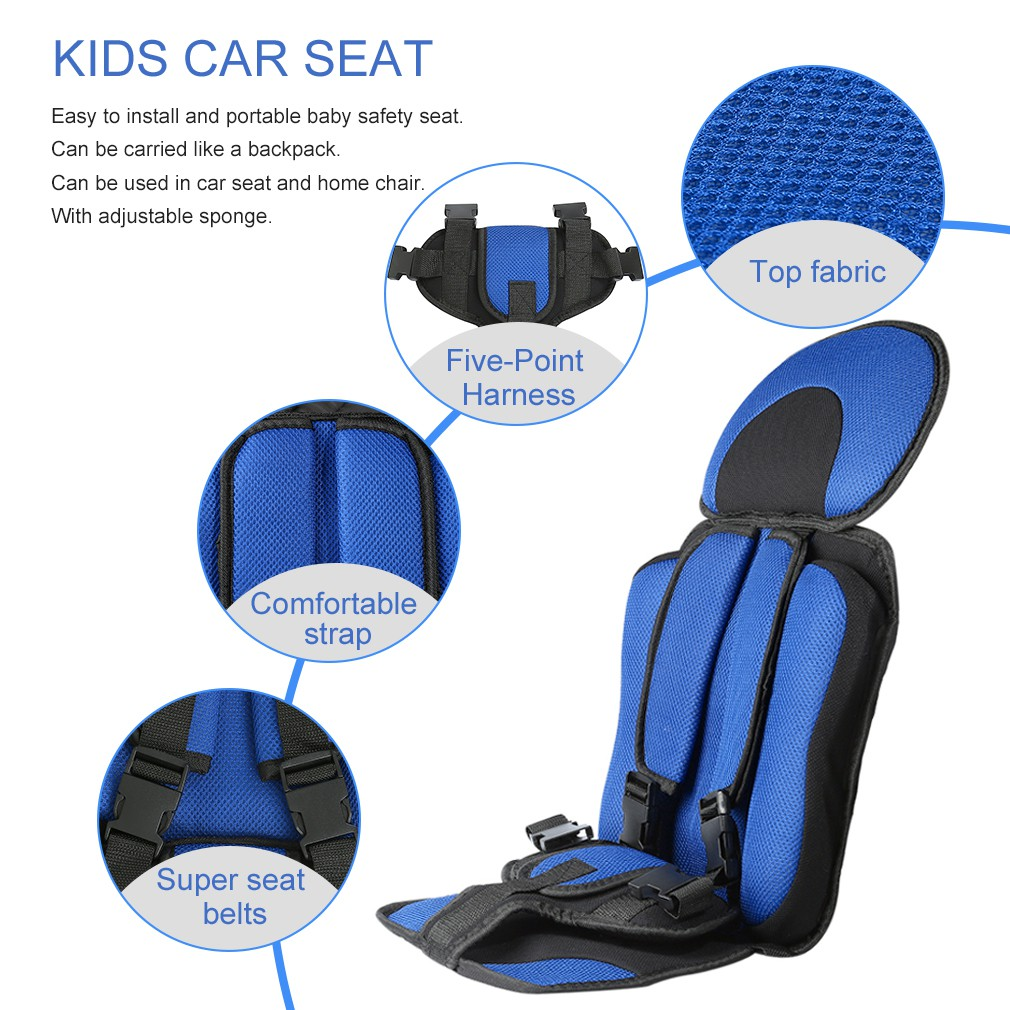 Trendy Soft Safety Kids Car Seat For