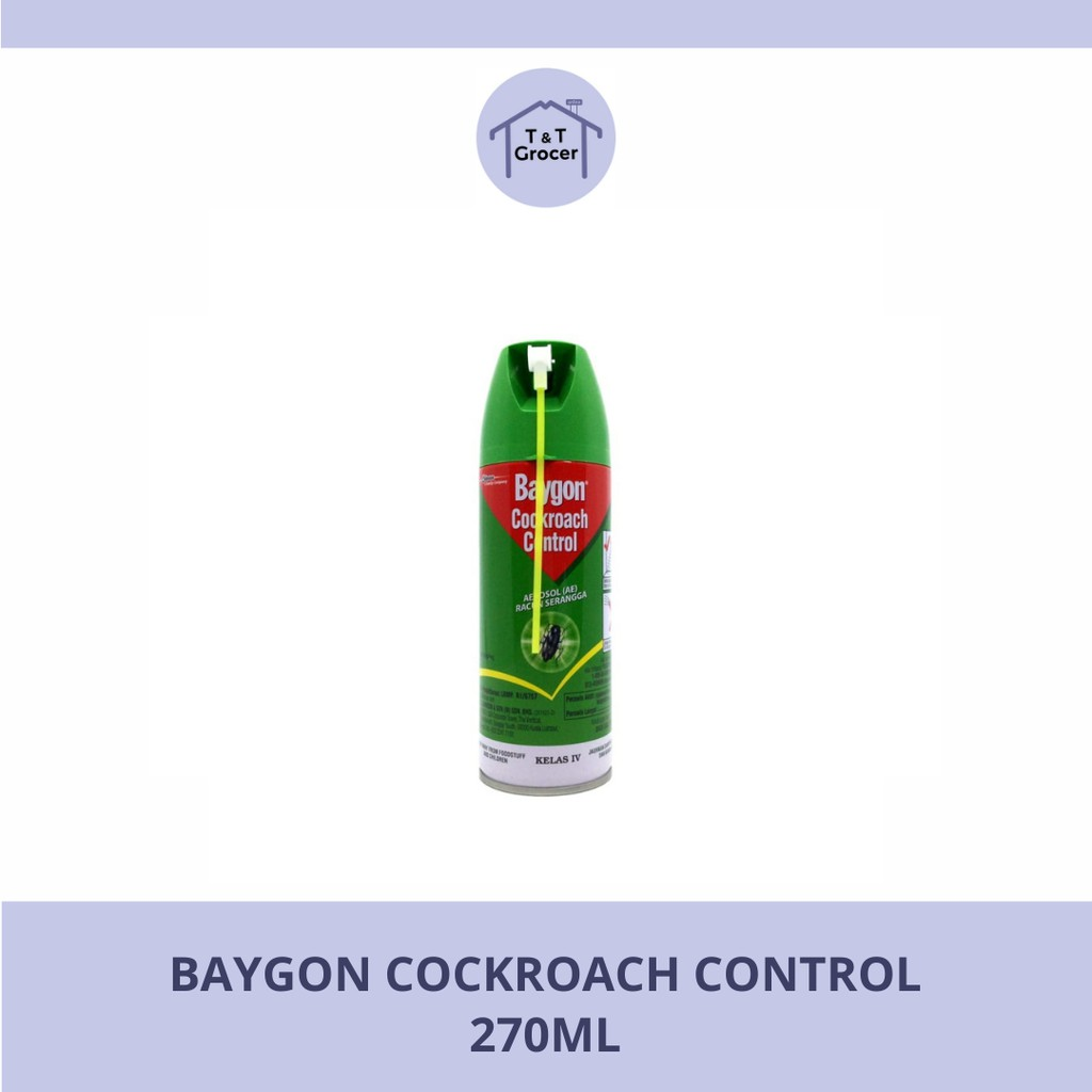 Baygon Cockroah Control (270ml)