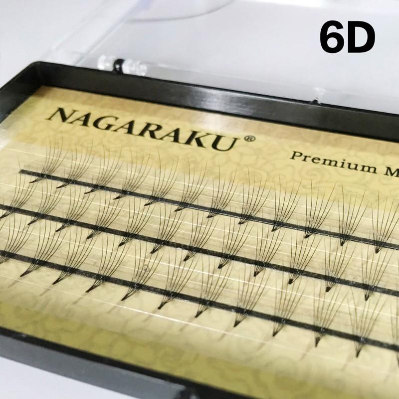 NAGARAKU 6D lashes eyelash extension premade lashes volume fan lashes