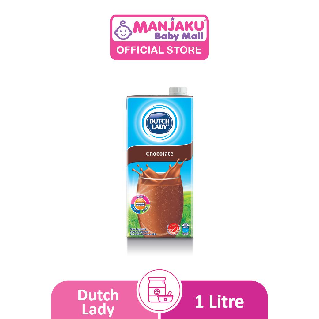 Dutch Lady UHT Milky Chocolate - 1L