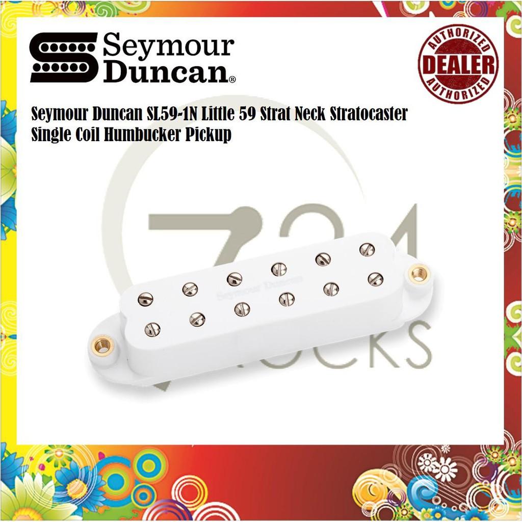 Seymour Duncan SL59-1N Little 59 Strat Neck Stratocaster Single Coil  Humbucker Pickup