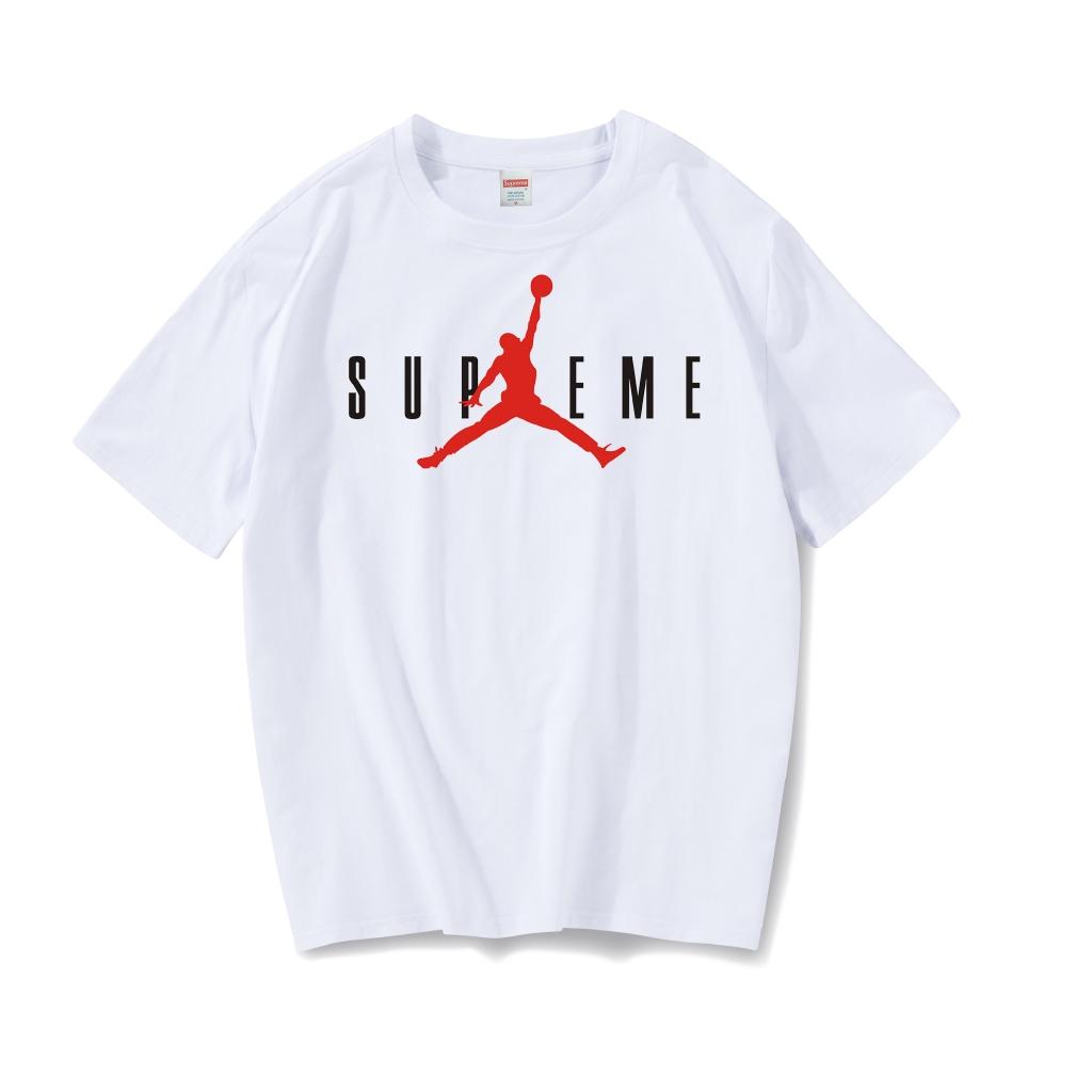 Summer tide brand t-shirt male short-sleeved loose Korean student bottoming shirt men's cotton half sleeve