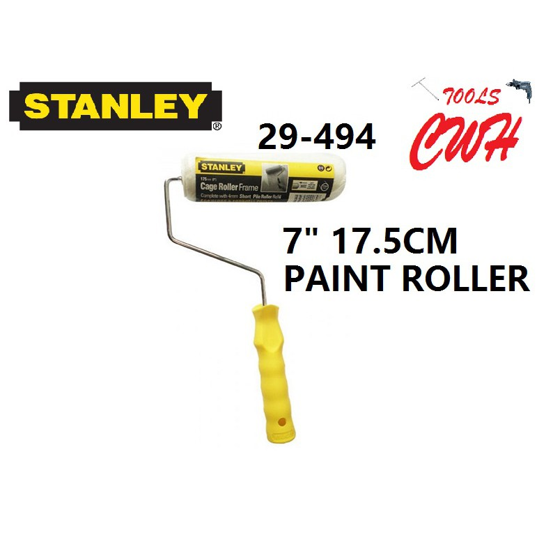 """29-494 STANLEY PAINT ROLLER 7"""" CAGE ROLLER ACRYLIC MED REFILL 29494"""