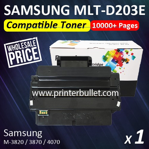 Samsung MLT-D203E / MLTD203E / MLTD203 High Quality Compatible Toner Cartridge