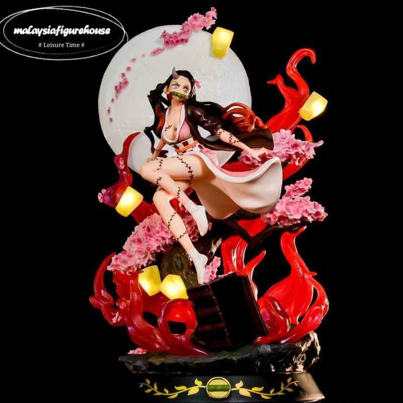 Anime Demon Slayer Kamado Nezuko Figure Statue Model Toy 31cm New in Box