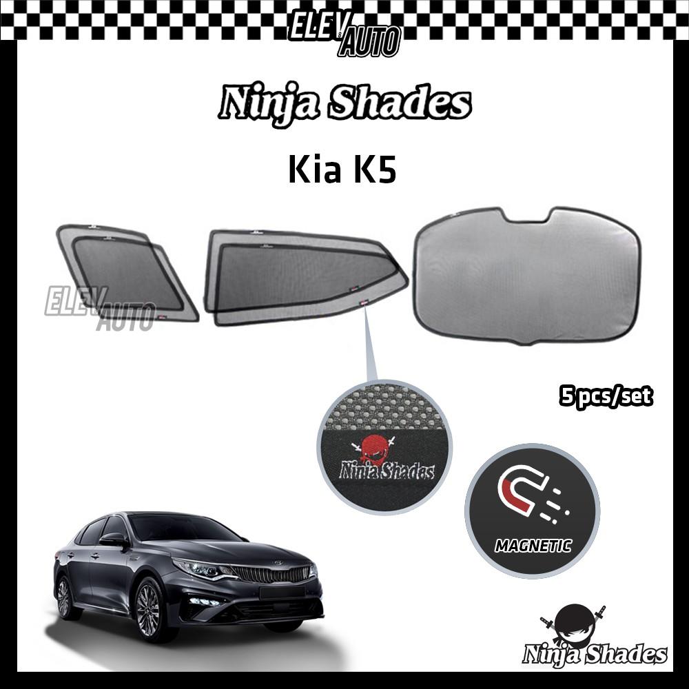 Kia Optima K5 Ninja Shades OEM Magnetic Sunshade